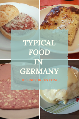 Typical Food in Germany