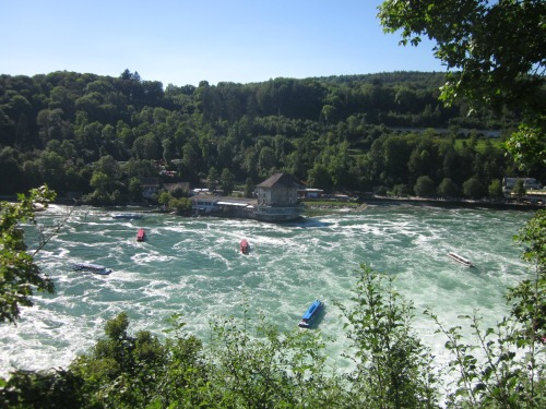 Boat Trips to the Rhine Falls, Germany
