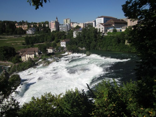 Rhine Falls from on High