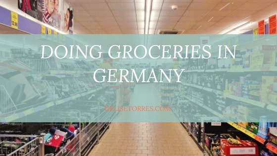 Doing Groceries in Germany Post Image